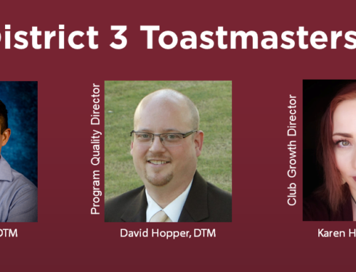 District 3 Announcements July 6, 2020